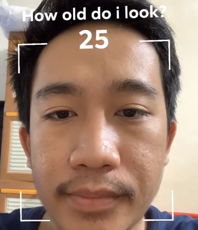 How To Get The How Old Do I Look Instagram Filter Snap Font