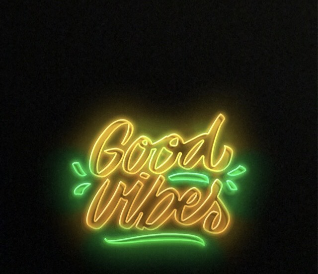 Good Vibes Neon Sign Snapchat Filter Snap Font